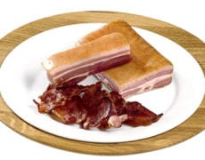 Tørrsaltet bacon Aron Mat