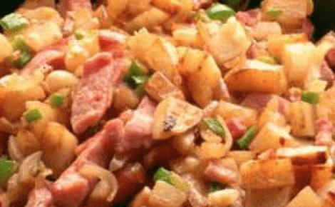 Baconpoteter oppskrift Aron Mat