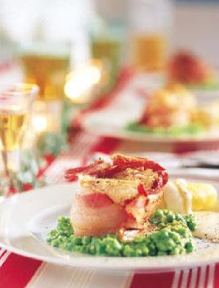 Lutefisk bacon oppskrift Aron Mat
