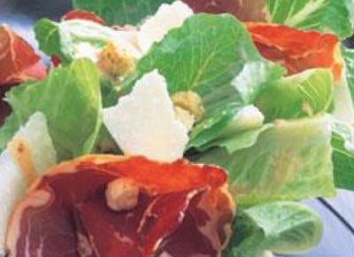 Cæsarsalat oppskrift Aron Mat